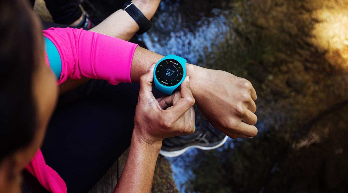 Find the joy of running with Polar M200