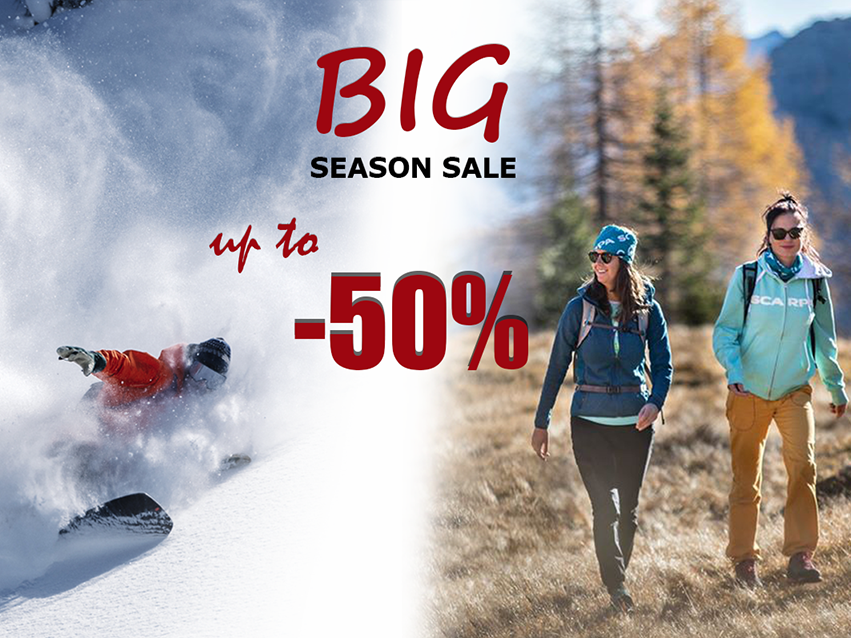 Big season sale at Basecamp Shop!